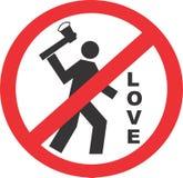 不要杀害爱 免版税库存照片
