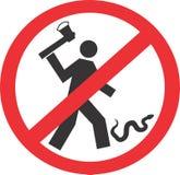 不要杀害蛇 库存图片