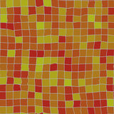 不规则的橙色瓦片 库存照片