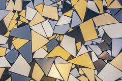 不规则的瓦片的样式在地板的 图库摄影