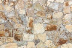 不规则的石墙 库存照片