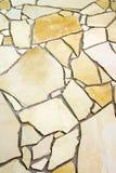 不规则的自然石头-地板 库存照片