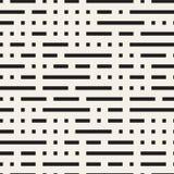 不规则的迷宫塑造铺磁砖当代图形设计 黑色模式无缝的向量白色 皇族释放例证