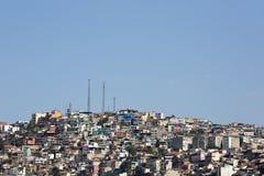 不规则的都市化在伊兹密尔,土耳其 库存图片