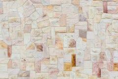 不规则石墙表面 免版税库存照片