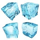 不透明的冰块 向量例证
