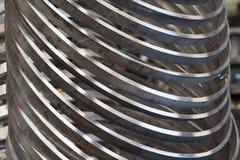 不锈钢圆环 免版税库存图片