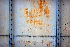 不锈钢墙壁结构 库存照片