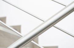 不锈钢栏杆 免版税库存图片