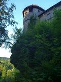 与一个塔的老城堡在德国 库存图片