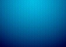 与一个小的模式的蓝色墙纸 免版税库存照片