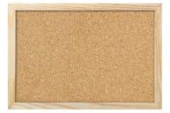 空白的corkboard 免版税库存图片