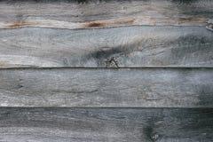与一个空的地方的灰色木板背景文本的 库存照片