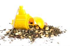 与一个水下茶包的茶 免版税库存图片