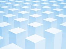 与一些的抽象3d背景箱子 库存图片