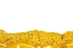 与一种黄色织品的背景 免版税库存图片