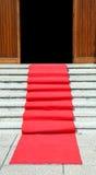 与一豪华隆重的长的楼梯往门户开放主义 免版税库存照片