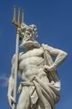 与三叉戟的Neptun 免版税库存照片