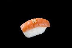 与三文鱼的寿司 免版税库存照片