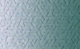 与三角的几何样式背景 3d?? 库存例证