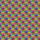 与三角的抽象无缝的样式 免版税库存图片