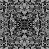 与三角的无缝的纹理,不尽的马赛克 库存例证