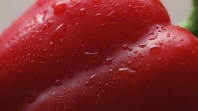 与下落的甜红辣椒 影视素材