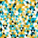 与不同的颜色三角形状的Riangle无缝的背景