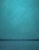 与丝带的抽象蓝色背景 免版税库存照片