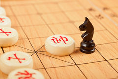 与中国文化互动 免版税库存照片