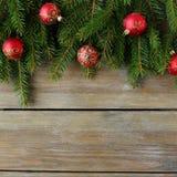 与中看不中用的物品的圣诞节背景 免版税库存照片