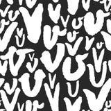 与书法的传染媒介样式在V上写字 免版税图库摄影