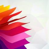 与书的五颜六色的背景呼叫彩虹 免版税库存图片