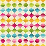 与五颜六色的三角的样式 库存例证