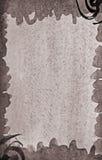 与五颜六色的不同的层数Ab的抽象水彩背景 免版税库存图片
