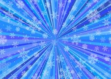 与五颜六色的射线的生日季节性背景,抽象 库存照片