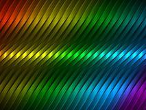 与五颜六色的小条的传染媒介背景 库存照片