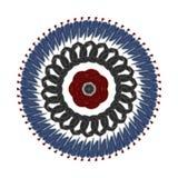 与五颜六色的样式的图表装饰品 免版税库存图片