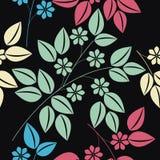 与五颜六色的百花香的不尽的样式 免版税图库摄影