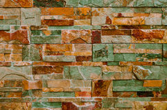 与五颜六色的装饰瓦片的抽象背景 免版税库存照片