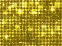 水平的黄绿色马赛克 免版税库存图片