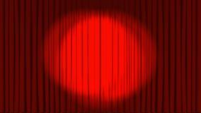 与人跳舞的剧院阶段 库存例证