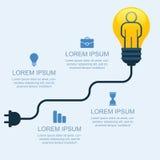 与人,事务,社交,战略,骗局的创造性的电灯泡 皇族释放例证