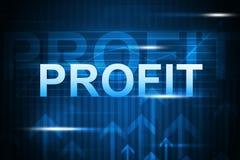 与企业词和箭头的抽象背景 免版税库存照片