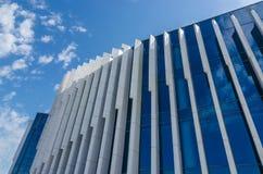 与伟大的建筑学的大厦反对天空 免版税库存照片
