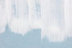 与传神白色刷子冲程的艺术性的背景 库存图片