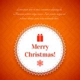 与传统挪威样式的圣诞节背景 免版税库存照片
