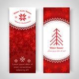 与传统挪威样式的圣诞节背景 库存照片