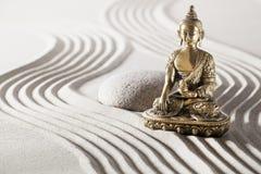 与佛教心态的松弛凝思 免版税图库摄影