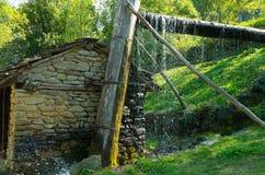 与供水的历史建筑 免版税图库摄影